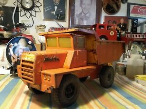 Buddy L 1960's Dump Truck for display or Restoration.