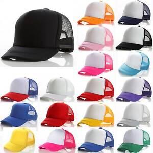 Casual Mesh Baseball Cap Hat Hip Hop Snapback for Toddler Kids Boys Girls 6
