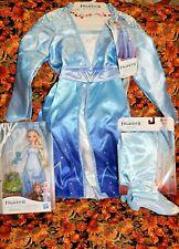 Disney Frozen 2 Elsa Adventure Dress Fits Size 4-6x With Tags Fast