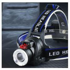 6000lm Led T6 Headlight Headlamp Torch Light Lamp Zoomable Adjustable 3 Modes
