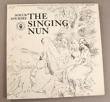 "EXCELLENT Original Album ""The Singing Nun"" Full Pages Of Lyrics and Watercolors"