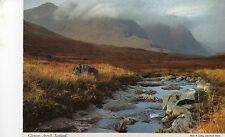 Postcard   Scotland  Glencoe Argyll   un posted   Hinde