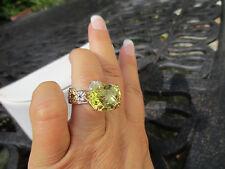 Gems en Vogue Sterling 18K Embraced Ouro Verde & Sapphire Ring SHOPHQ $279