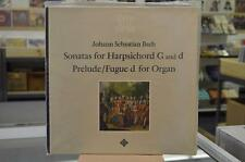 Gustav Leonhardt  Bach Sonatas Prelude and Fugue  SEALED Telefunken Stereo LP