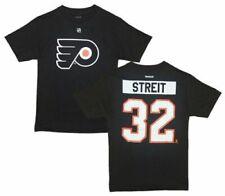 NHL T-Shirt Philadelphia Flyers Mark Streit schwarz Player Name Number
