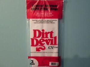 Dirt Devil Central Vacuum bags 7767-W- 3 Pack