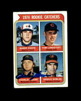 Charlie Moore Hand Signed 1974 Topps Milwaukee Brewers Autograph