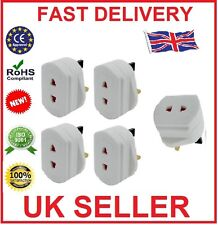 5 X UNIVERSAL  ELECTRIC SHAVER ADAPTER TOOTHBRUSH PLUG CONVERTOR 2 TO 3PIN