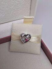 New Pandora Struck By Love Valentine's Day Charm w/Ltd Ed Box  B800426 792039Cz