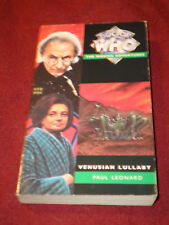 Dr. Who Missing Adventures: Venusian Lullaby by Paul Leonard (1994, Pb) Doctor