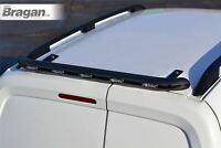 Rear Roof Beacon Light Bar + LEDs For Peugeot Expert 2007 - 2016 Matte BLACK Van