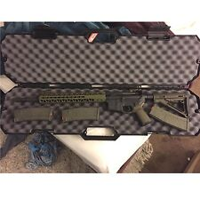 "Protective Gun Case Storage AK 47 AR-15 Hard Box Durable Weatherproof Rifle 40"""