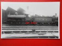 PHOTO  LMS EX LNWR CLASS CAULIFLOWER LOCO NO 8610 AT CREWE SOUTH 1/1/37