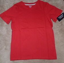 NEW FRENCH TOAST Boys Youth T Shirt V Front Red M 10 12 NEW NWT
