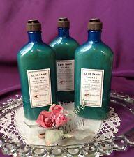 ~Rare! Set of 3 Bath & Body Works ~~ Ile de Tahiti ~ Tiare Flower ~~ Body Wash~