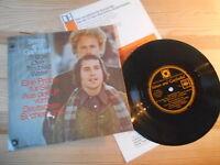 """7"""" Pop Simon+Garfunkel - Bridge Over Troubled Water Flexi CBS DT SCHALLPLATTENCL"""