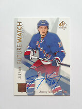 2016-17 SP Authentic Future Watch Auto #152 Rookie RC JImmy Vesey 213/999