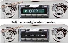 59-60 Chevy El Camino NEW USA-630 II* 300 watt AM FM Stereo Radio iPod USB Aux