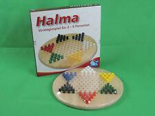 Halma Stern Holz Steckspiel Strategiespiel Brettspiel XXL Maße:29cmx29cmx1,8cm