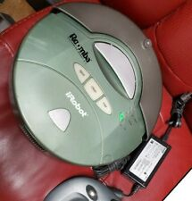 Roomba 2.1 works great! needs new battery, includes 4 & charger