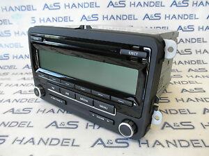 Orig. VW Volkswagen Golf Jetta Eos Radio 5N0035164A US USA CD AM FM Autoradio