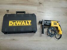 Dewalt Dw566 Sds Rotary Hammer Steel Drilling With Case