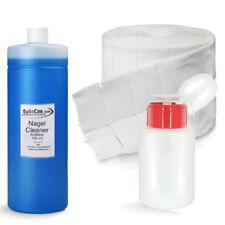 Cleaner Entfetter Nail Prep Dispenser Pumpflasche 500 Zelletten Lohmann Spar Set
