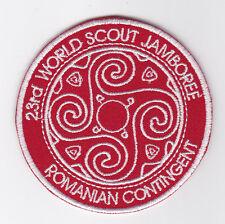 2015 World Scout Jamboree ROMANIA / ROMANIAN SCOUTS Contingent Patch