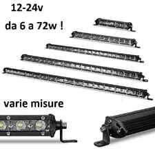 LED LUCE FARO LAMPADA DA LAVORO FARETTO AUTO BARCA CAMION SUV 12V 24V 6 18 72w
