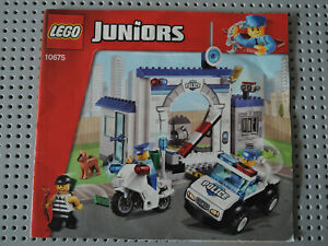 LEGO Bauanleitung / Instruction Juniors 10675