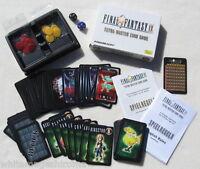 Final Fantasy IX 9 Tetra Master Card Game Squaresoft Limited Edition 2000 7 NEW!