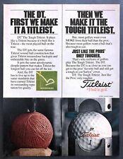1980 Acushnet Dt The Tough Titleist Golf Ball Core photo vintage promo print ad