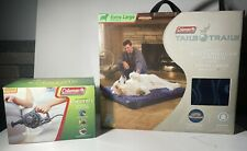 Coleman Tails N Trails Extra Large Dog Breed Airbed w/Coleman Electric Pump Camp