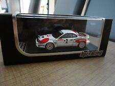 HPI-RACING 1/43 TOYOTA CELICA TURBO 4WD C. SAINZ 2ND MONTE CARLO 1992 N° 8003