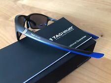 TAGHeuer Sonnenbrille TH 6021, Model 27, Anthrazit /Blau, Drehbügel, UVP 330€