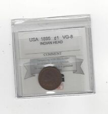 1895  Indian Head, Small ¢1 Cent, Coin Mart