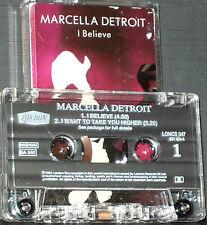 Marcella Detroit  I Believe CASSETTE SINGLE 2 tracks London Records LONCS 347
