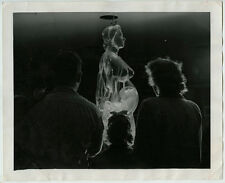 VTG 1948 Family Views Transparent Model of Pregnant Woman Surreal Press Photo
