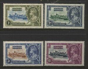 Northern Rhodesia 1935 KGV Silver Jubilee Set Mounted Mint