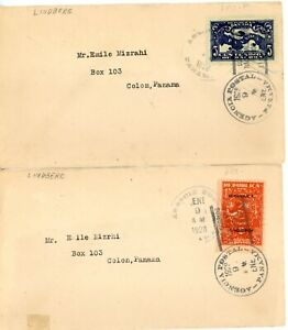 PANAMA--2 First Day Cover Scott #256-#257 in 1928