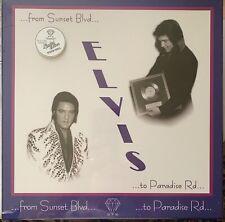 ELVIS FROM SUNSET BOULEVARD TO PARADISE ROAD LP 4 LP 4 CD WHITE VINYL BOX SEALED