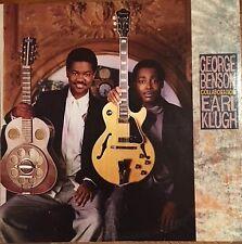 "George Benson & Earl Klugh - 'Collaboration'12"" LP 33 RPM (1987) Very Good cond."