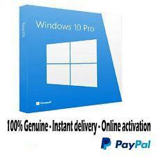 Licenza Originale Windows 10 Pro 32/64 Multilingua Attivazione Illimitata