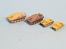 Panzermodelle N 1:160  4x Panzer I WWII - Metall - für Beladung (2)