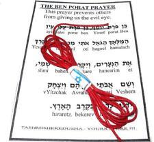 15xJerusalem Red String Kabbalah Bracelet Evil Eye Protection Luck
