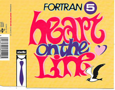 FORTRAN 5 - Heart on the line CDM 4TR House Synth-Pop 1991 UK release (MUTE)