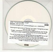 (GO370) The Big Pink, Tonight - 2010 DJ CD