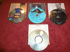 Lot of 4 Classic Rock CDs (Chicago, The Doobies, Clapton, Eagles)