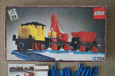 Lego Eisenbahn 12V Güterzug 724 70er sehr guter Zustand OVP Anleitung