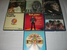 Reel to Reel Lot 7 each Tom Jones Ray Charles Sandpipers Mystic Moods Orchest +